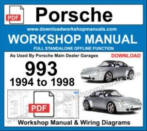Porsche 993 Workshop Service Repair Manual