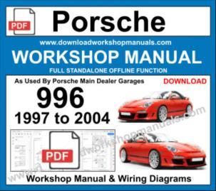 Porsche 996 Workshop Repair Manual Download