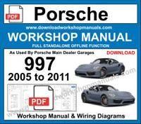 porsche 997 2005 workshop service repair manual
