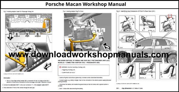 Porsche Macan Workshop Service Repair Manual