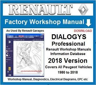 renault dialogys workshop repair service manual download