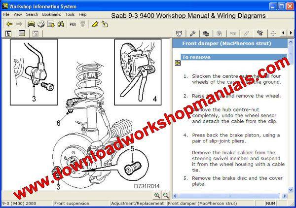Saab 9 3 Workshop Repair Manual Download
