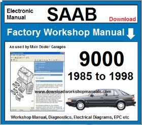 Saab 9000 Workshop Service Repair Manual