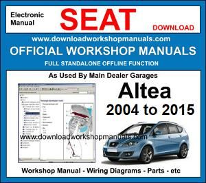 Seat Altea Workshop Service Repair Manual