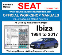 Seat ibiza Service Repair Workshop Manual
