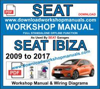 seat ibiza service repair workshop manual pdf