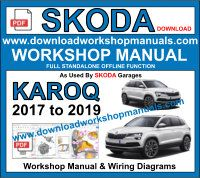 Skoda Karoq service repair workshop manual