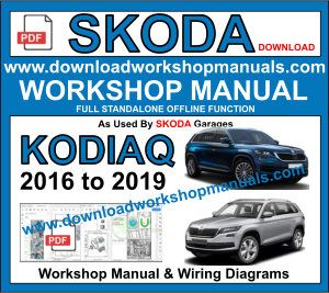 Skoda Kodiaq repair workshop manual