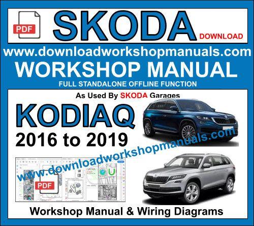 SKODA Workshop MANUAL SERVICE MANUALE download