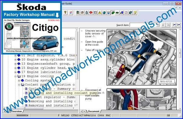 Skoda Citigo Repair Manual