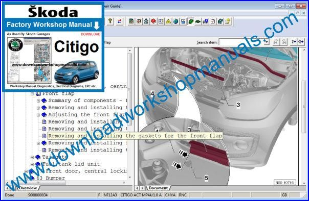 Skoda Citigo Workshop Manual
