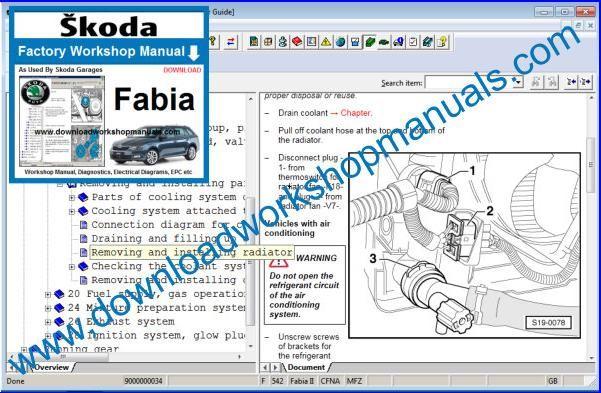 Skoda Fabia Workshop Repair Manual