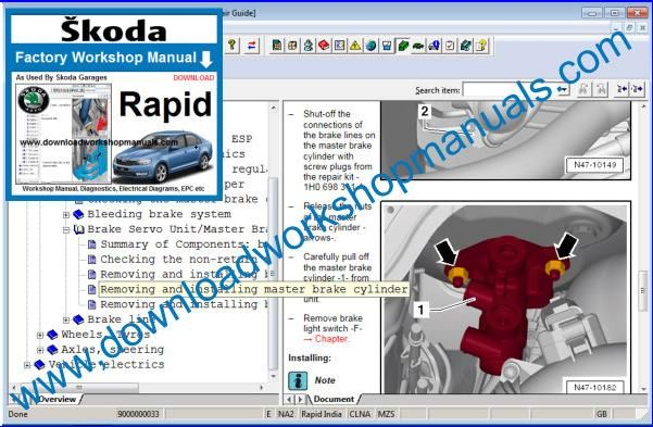 Skoda Rapid Repair Manual