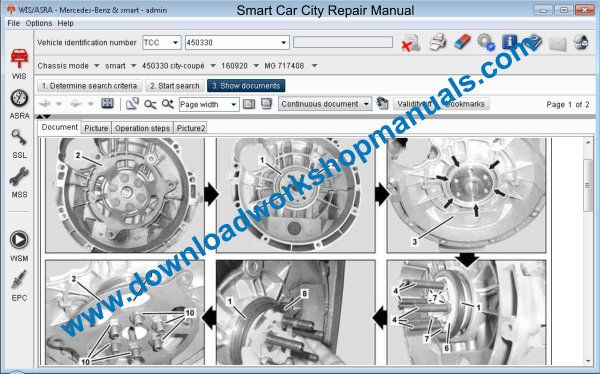 Smart Car City Repair Manual