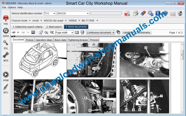Smart Car City workshop Manual