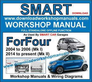 Smart Forfour Workshop Service Repair Manual Download