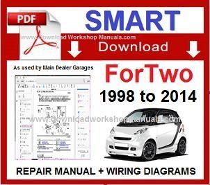 SMART CAR FORTWO PDF Workshop Service Repair Manual DownloadDownload Workshop Manuals .com