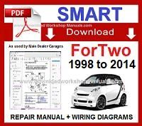 smart fortwo workshop service repair manual download