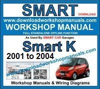 Smart K Workshop Repair Manual Download