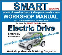 Smart ED service repair workshop manual download
