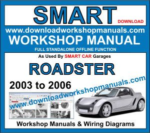 Smart Roadster Workshop Repair Manual Download