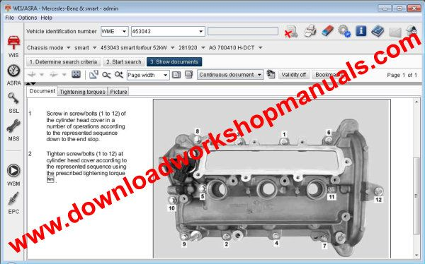 smart forfour repair manual