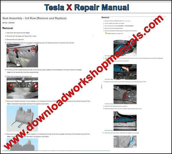 Tesla Model X Repair Manual