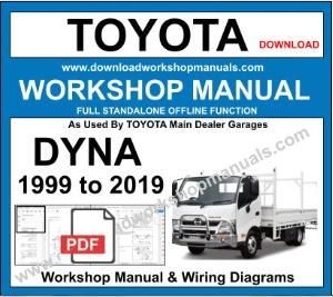 Totota Dyna workshop service repair manual pdf