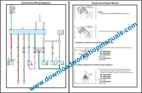 Toyota Auris Wiring Diagrams