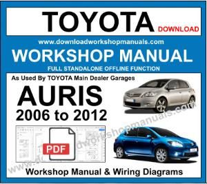 Toyota Auris Workshop Service Repair Manual Download