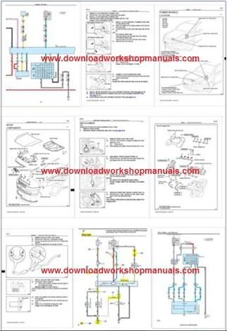 toyota avensis workshop service repair manual and wiring diagrams