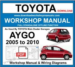 Toyota Aygo Workshop Repair Service Manual Download