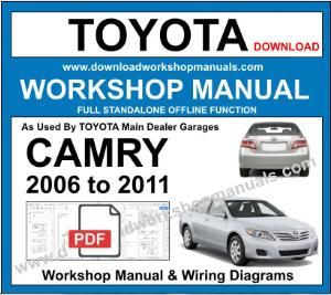 Toyota Camry Workshop Service Repair Manual