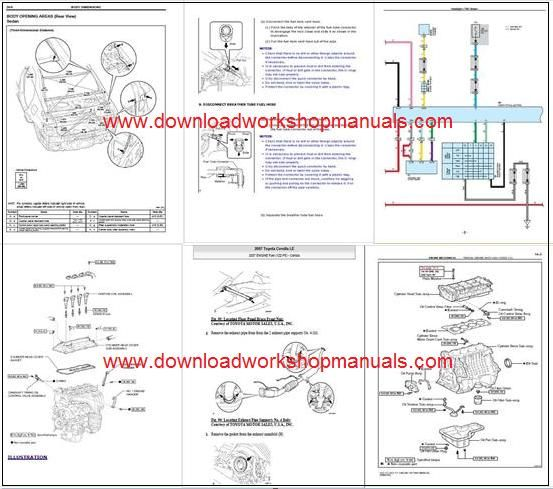 Toyota Corolla Workshop Repair manual & Wiring Diagrams