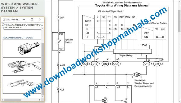 Toyota Hilux Wiring DIagrams Download