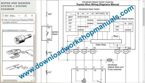 [DIAGRAM_34OR]  Toyota Hilux Workshop Service Repair Manual Download | Toyota Hilux Wiring Diagram 2008 |  | Download Workshop Manuals .com