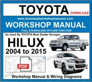 Toyota Hilux Workshop Service Repair Manual