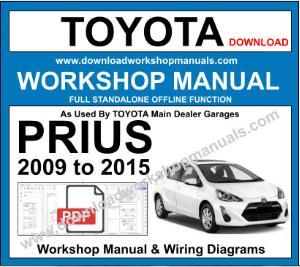 Toyota Prius Workshop Service Repair Manual