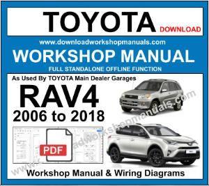 toyota rav4 workshop service repair manual
