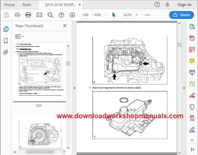 Toyota Rav4 Workshop Repair Manual