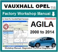 vauxhall agila Workshop Manual Download