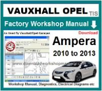 vauxhall ampera Workshop Manual Download