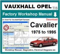 free 1993 cavalier repair manual