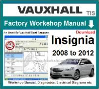 vauxhall Insignia Workshop Manual Download