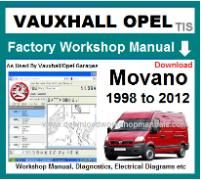 vauxhall movano Workshop Manual Download