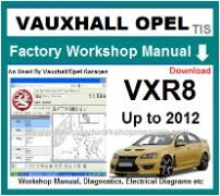 vauxhall vxr8 Workshop Manual Download