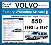 volvo 850 repair manual