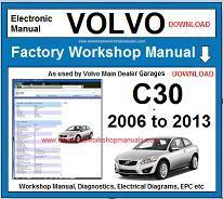 volvo c30 repair manual pdf
