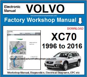 Volvo XC70 Workshop Service Repair Manual Download