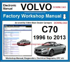 Volvo c70 workshop service repair manual